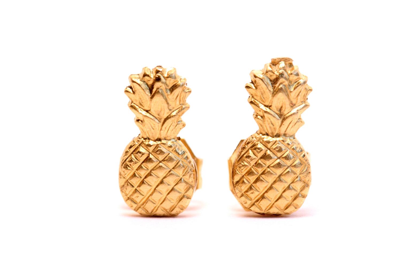 pineappleeasrrings
