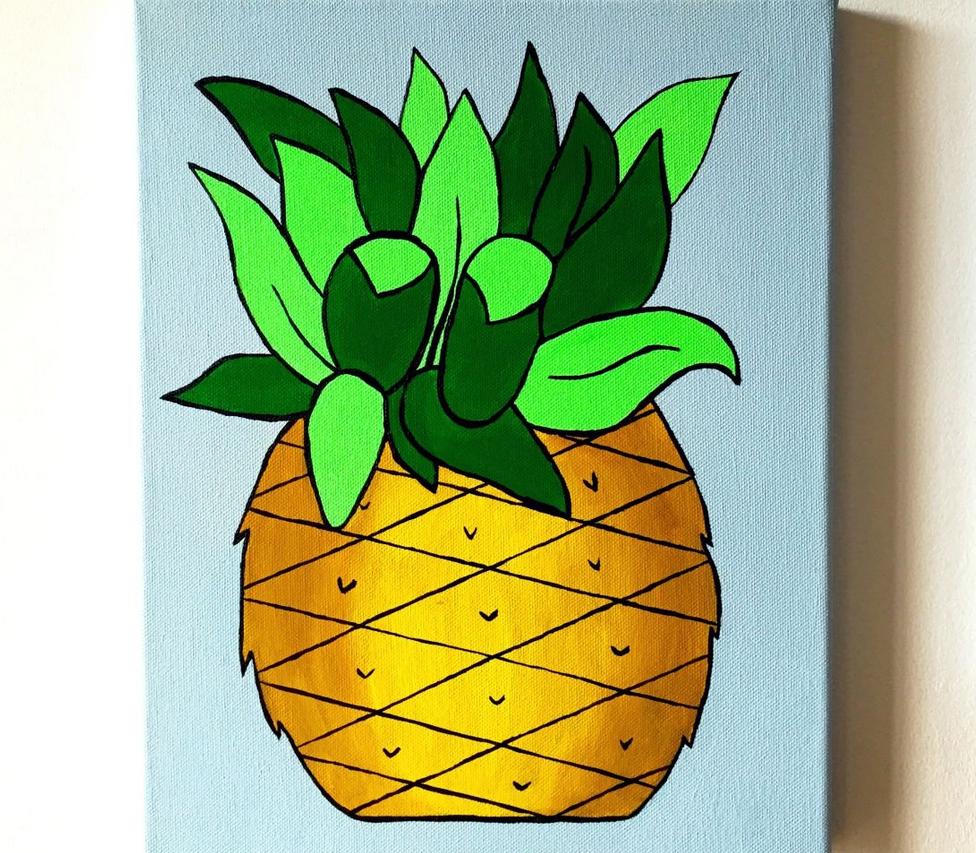 pineapplepaintingianviggars