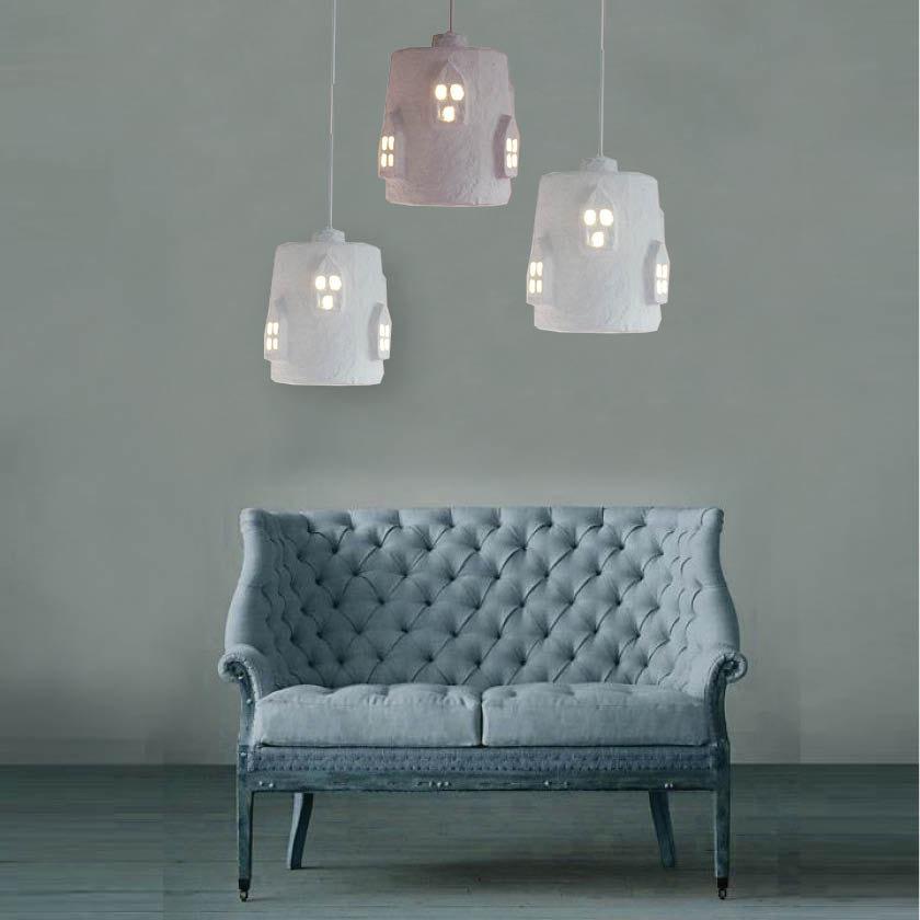 modernwhitehanginglamps