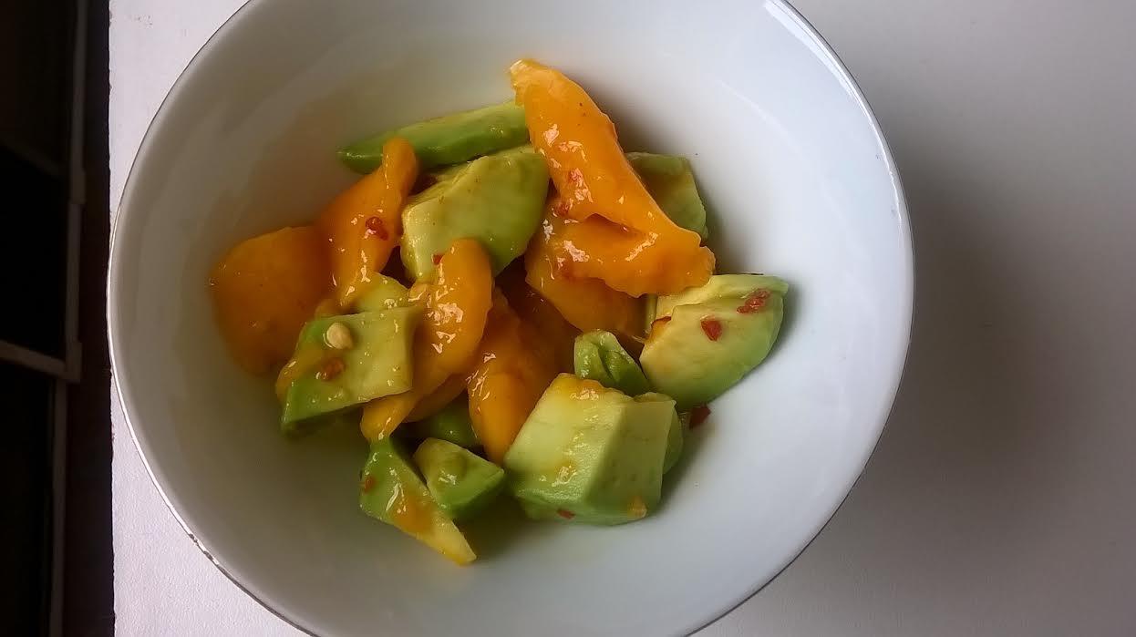 spicymangoavocadosalad