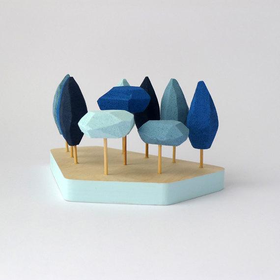 bluetabletoptrees